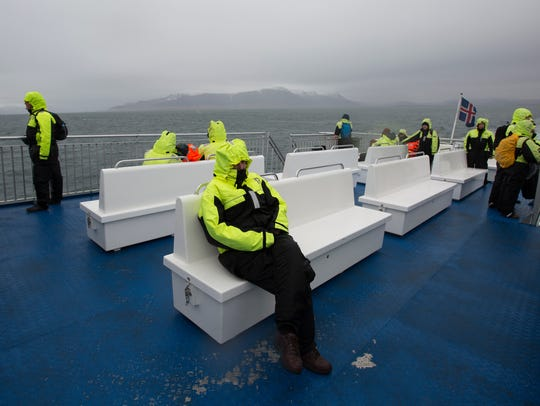 Whale watching is popular. After all, you might see