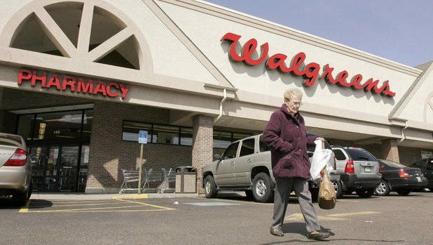 File photo of a Walgreens