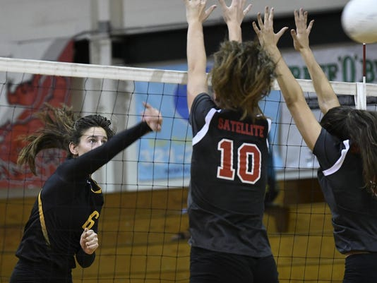 High School Volleyball: District 14-6A championship