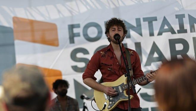 The 2016 Fountain Square Music Festival.