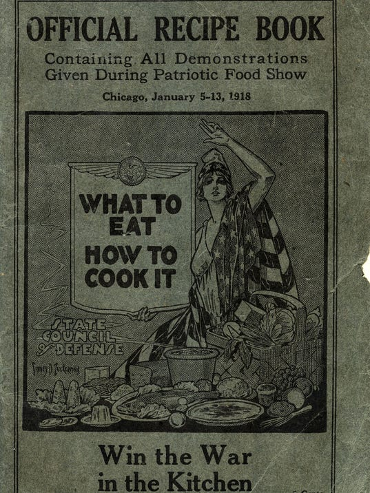 Wwi cookbook shows beginnings of meatless mondays forumfinder Gallery