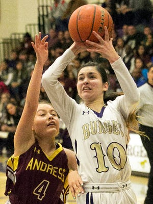 Natalie Sanchez, 10, of Burges named to the Texas Association of Basketball Coaches All-State basketball team. She earned spots on two All-State teams this season.