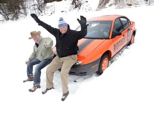 The Iron Mountain-Kingsford Rotary Club member Jeff
