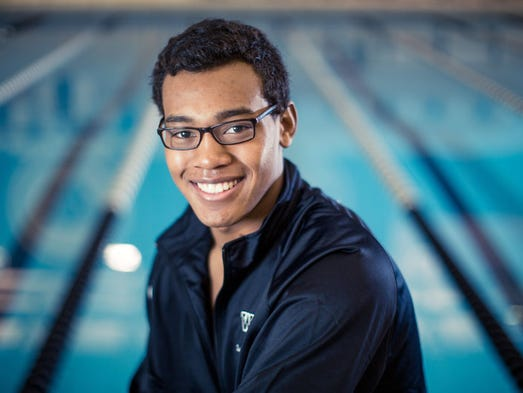 Tabahn Afrik is the top rated swimmer in the state,