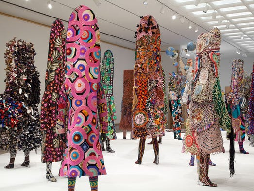 Nick Cave : Here Hear exhibition at Cranbrook Art Museum.