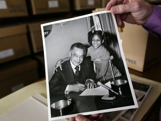 Coleman Young papers offer peek into mayor's reign