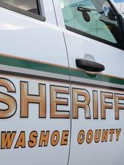 Washoe County Sheriff's Office vehicle.