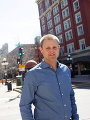 Nate Kaeding is Iowa City Downtown District's retail development coordinator.