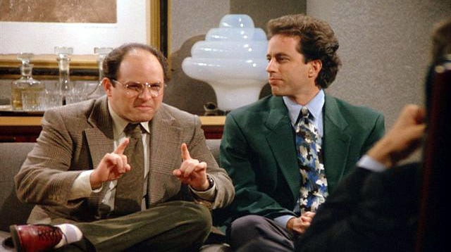 """Jason Alexander played George Costanza on """"Seinfeld,"""" a character who often worried about his male-pattern baldness."""