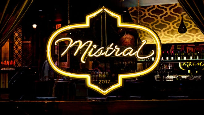 Mistral, a Mediterranean restaurant, opens Dec. 11 at 2473 S. Kinnickinnic Ave., in the Avalon Theater building.