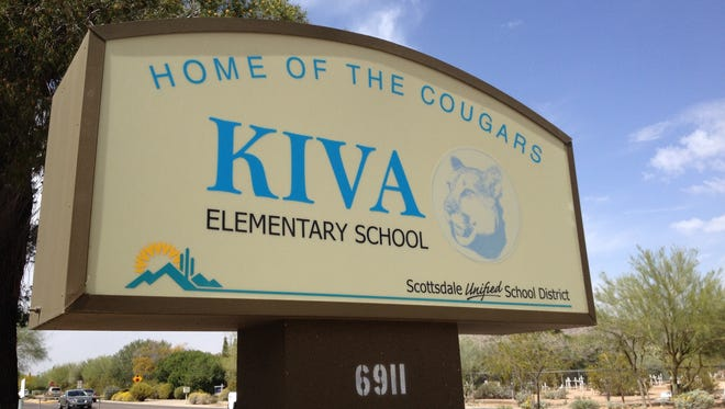 Kiva Elementary School is in Paradise Valley and is part of the Scottsdale Unified School District.