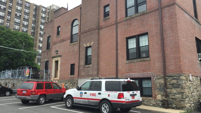 White Plains Fire Station 4 is now a hazard for firefighters because of the city's failure to repair and properly maintain a leaky roof.