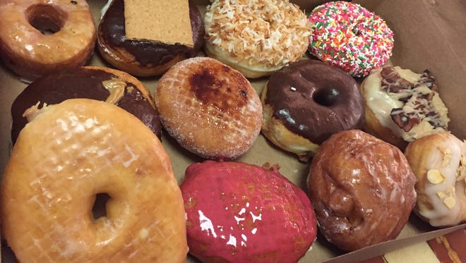 Dive into a dozen from General American Donut Co., 827 S. East St.