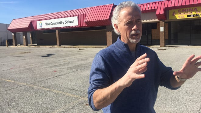 Steve Viars, senior pastor of Faith Church, describes plans for a $14 million Northend Community Center planned on a six-acre site on Elmwood Avenue, just west of Market Square Shopping Center.