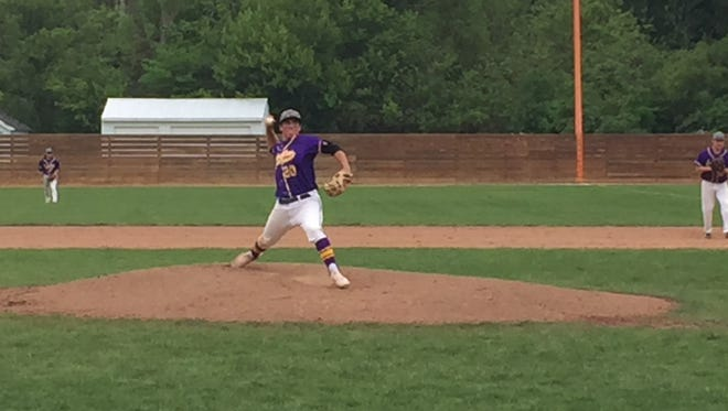 Lexington's Jared Strickler asked for the ball and then tossed a shutout Saturday.