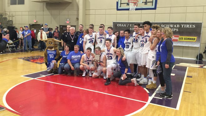 Western Mennonite's boys basketball team placed second at the OSAA Class 2A state tournament.
