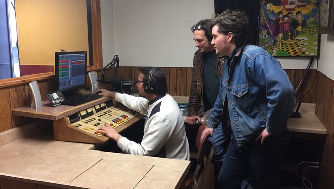 From left, Brian Pragacz, Jeff Stachyra and Andy Pragacz are the masterminds behind  WBDY, a low-power community station from the Bundy Museum of History and Art in Binghamton.