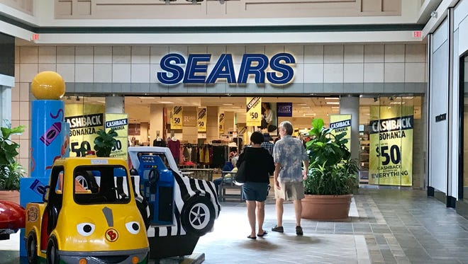 Most Sears stores will open 6 p.m. Thanksgiving.