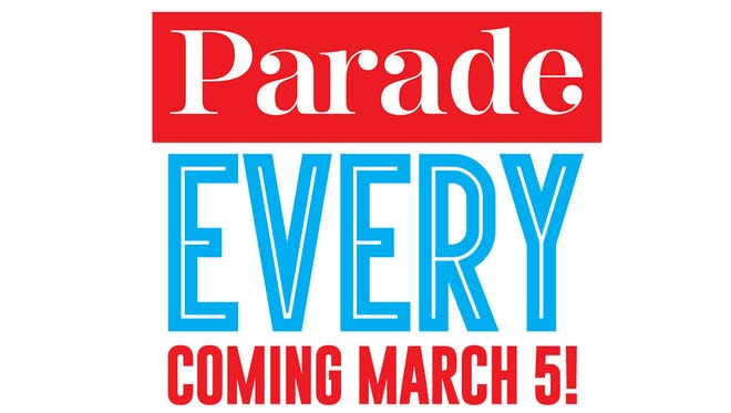 Parade magazine joins your Des Moines Sunday Register starting March 5.