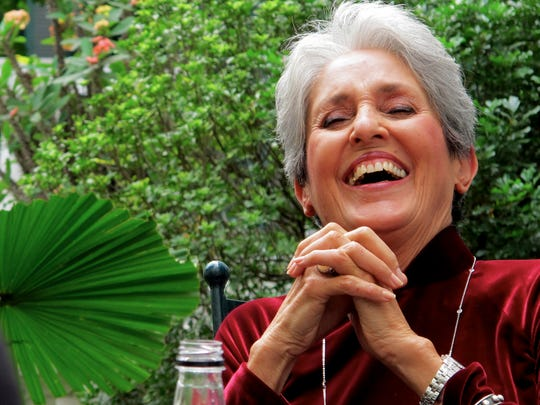 Fresh from her all-star birthday show at New York's Beacon Theatre, Joan Baez brings folk roots to The Grand on Wednesday.