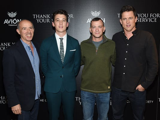 """The Cinema Society Host A Screening Of DreamWorks And Universal Pictures' """"Thank You for Your Service"""""""