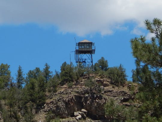 The Ruidoso Tower today.