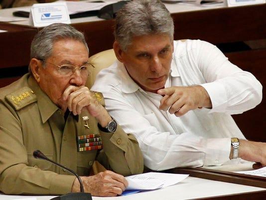AP CUBA THE NEXT PRESIDENT I FILE CUB