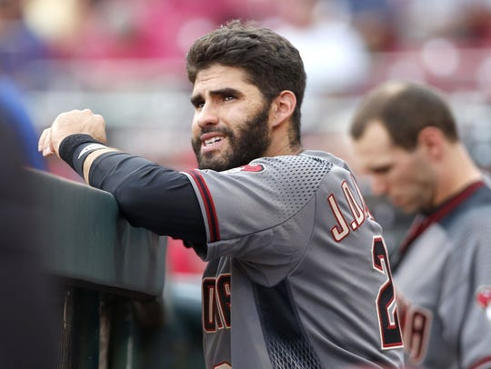 J.D. Martinez is a career .444/.483/.519 hitter in