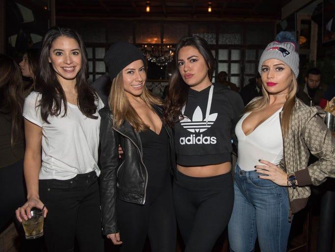 Jessica Belid, Jennifer Castro, Leslie Sanchez and