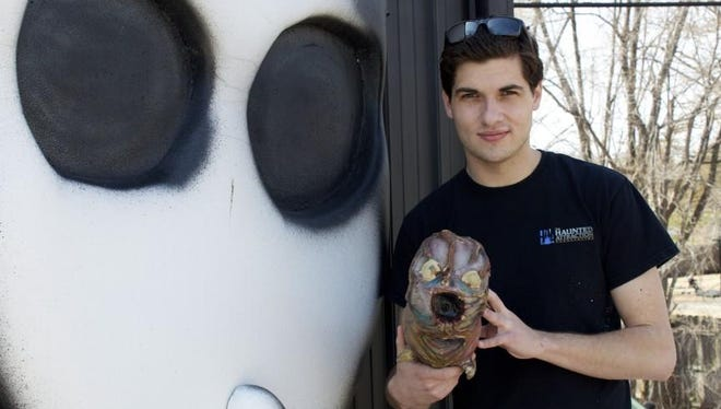 Cody Bailey, 24, will open his haunted house, Hush Haunted Attractions, in Westland for a special event on Saturday, Aug. 15.