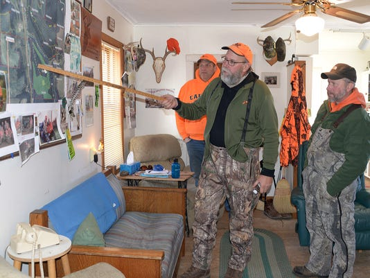 What's a 'mooch' and how does it involve deer hunting?