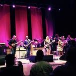 The Tedeschi Trucks Band performs and encore with Sharon Jones and the Dap-Kings at Kodak Hall on June 25, 2015.