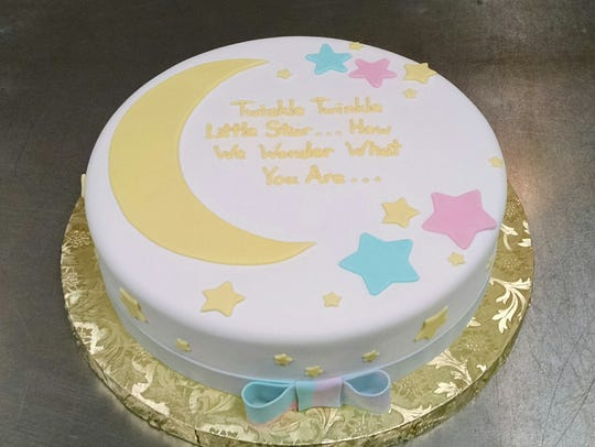 A cake made by Stephanie Baumann, owner of Let Them