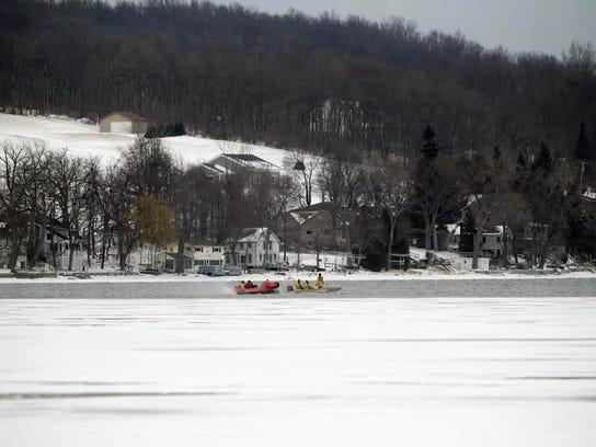 Snowmobile Deaths Ice (2)