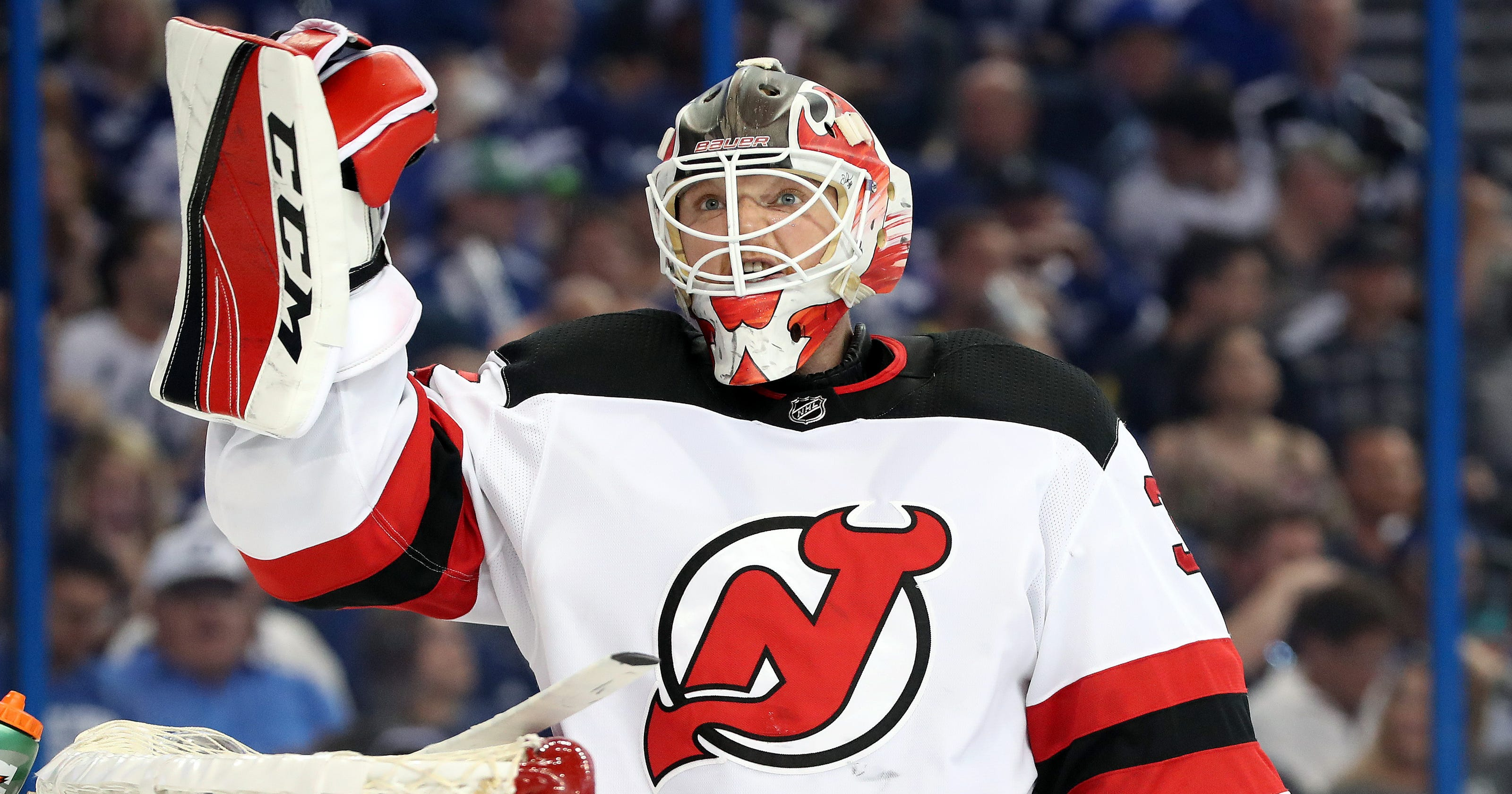 NJ Devils depth chart  A look at the goalies ahead of training camp 5cdc01737