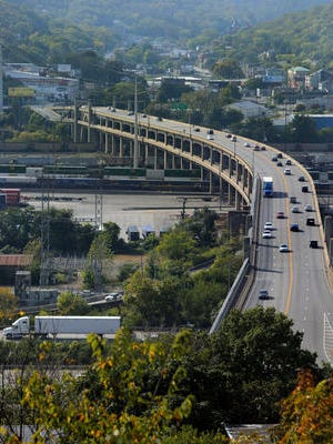 No other major bridge in Southwest Ohio and Northern Kentucky is in worse shape than the Western Hills Viaduct. The Viaduct opened in 1932 as the 'gateway' to the west side of Cincinnati, crossing over Spring Grove Ave. railroad yard and the Mill Creek.