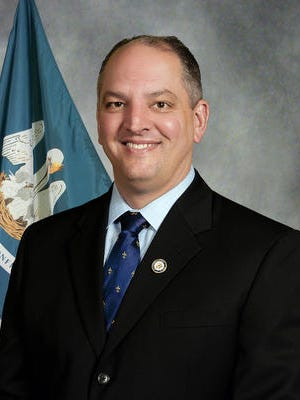 John Bel Edwards, a Democratic gubernatorial candidate, will campaign in Central Louisiana on Thursday.