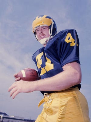 Fremont native Rob Lytle during his playing days the University of Michigan.
