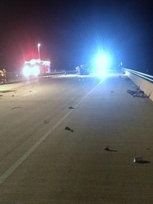 A York man died in a motorcycle crash on the Rt 30 Bridge over the Susquehanna River about 10:30 p.m. on Wednesday, according to West Hempfield Township Police.