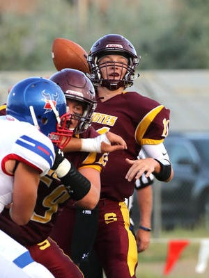 Shelby quarterback Aaron White threw for more than 6,000 yards in his great football career.