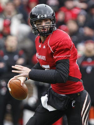 Quarterback Tony Pike led the Cincinnati Bearcats to their best start, 12-0 in 2009. UC finished 12-1 after losing the Sugar Bowl to Florida.