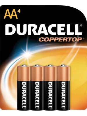Duracell is the world's No. 1 battery