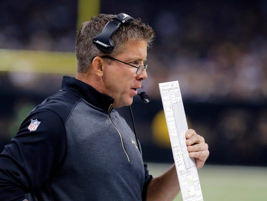 Saints Sean Payton H or V
