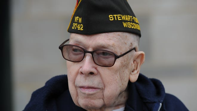 Raymond Alexander carried a gun onto Omaha Beach, but didn't need it because the infantry had done its job.
