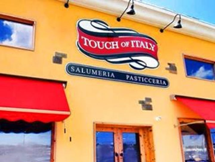 The Ocean City location of Touch of Italy features