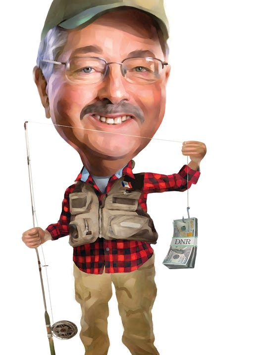 Editorial fish and wildlife fund starves branstad shrugs for Iowa fishing license cost