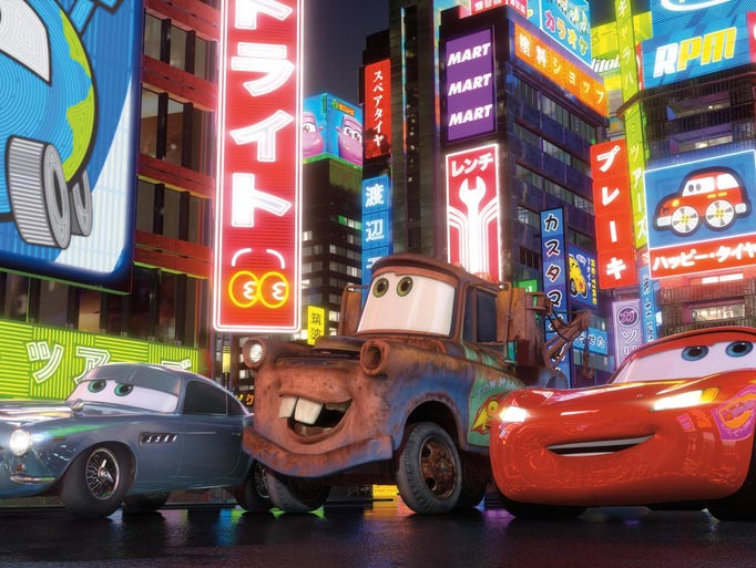 "15. ""Cars 2"" (2011) 