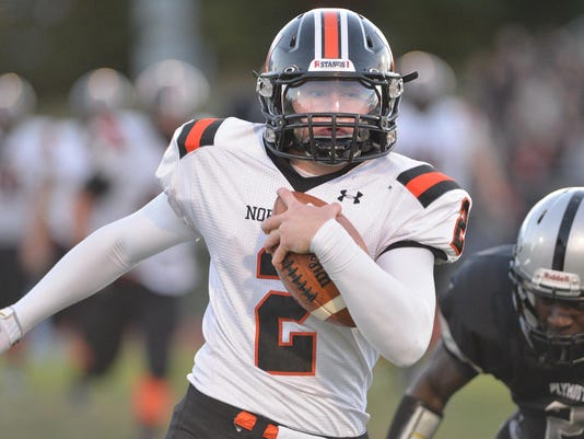 HS football Northville at Plymouth