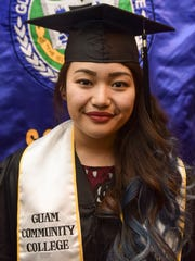 """Natsumi Kuranami, most distinguished graduate, graduates with an Associate of Arts in Culinary Arts from the Guam Community College on May 13. """"I think food is a language we all understand. I want to learn about different foods, and how to infuse different cultures into foods,"""" wrote Kuranami in a graduation publication."""