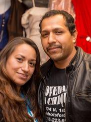 Javier and Ana Garcia, owners of Novedaded La Chiquita,
